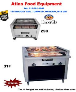 New Ember-Glo Gas Charbroiled Kebab Grills