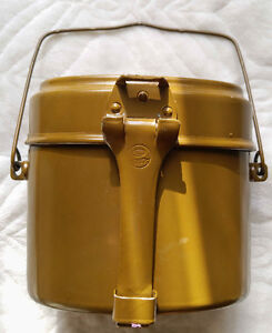 Original Russian Army Mess Kit USSR Military Lunch Box Canteen P