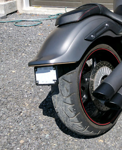 Low and Mean Yamaha Stryker LED taillight (smoked tube)