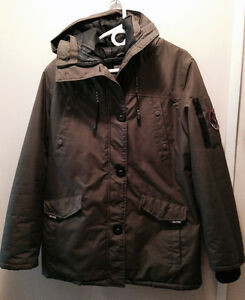 3/4 length Winter Coat (Army Green)