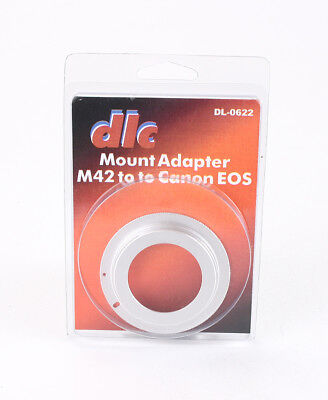 DLC ADAPTER TO USE M42 LENSES ON CANON EOS MOUNT CAMERAS/204509, used for sale  Shipping to India