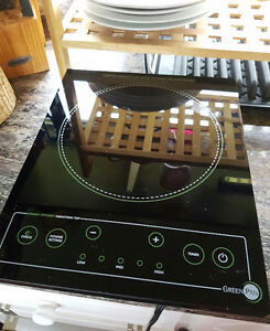 Green pan cook top