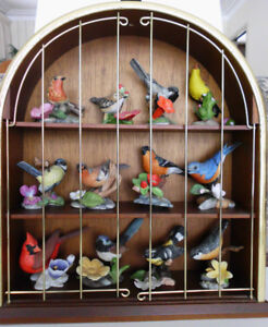 """Franklin Mint """"Birds and Blossoms of the World"""" Collection"""