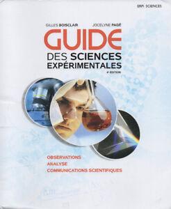 Guide des sciences expérimentales 4e éd.