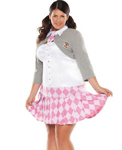 Plus size Coquette School Girl Costume