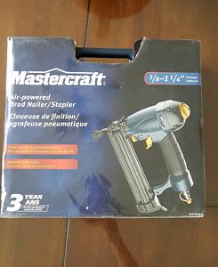 Cloueuse de finition et agrafeuse pneumatique Mastercraft
