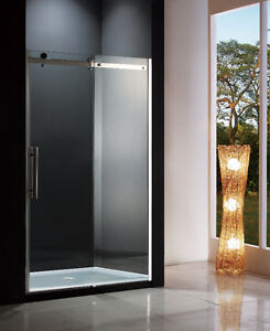 Portes de douche coulissante 60 pouces sliding shower door