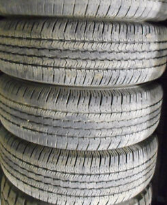 $400 TOTAL PRICE Goodyear ST 265/70/17-70-85% TREAD(4 TIRES)