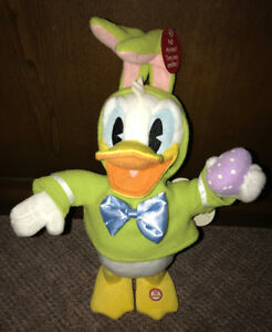 Donald Duck Hallmark Singing Dancing Walking Hallmark 15 Inches