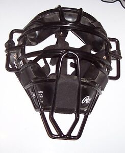 3 Catcher's masks to choose from