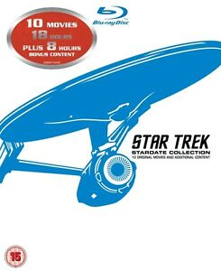 BLU-RAY! STAR TREK BOX SET 10 MOVIES London Ontario image 1
