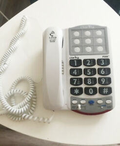 Large Button Home Telephone + Higher Volume