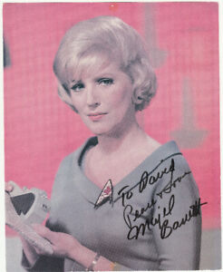 Original Signed Photo from MAJEL BARRETT, Original Star Trek