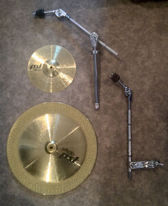 "Paiste Effects Pack - China 18"" + Splash 10"" + 2 booms"