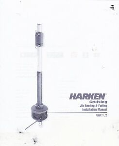 Harken Mk1 sail furling-reefing unit