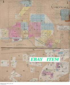 11 Vintage Street and Building Maps from 1895 - 1916