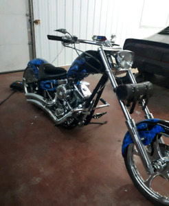 Pro-One custom chopper reduced price