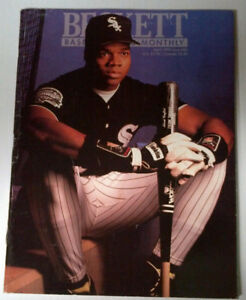 Baseball Beckett Price Guide from early 90's