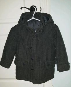 Manteau chic  d'hiver en lainage