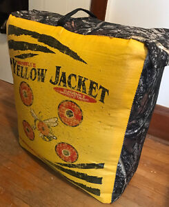 Two-sided, Large, Yellow Jacket Archery Target