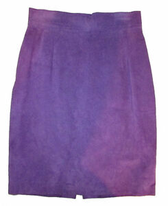 DANIER Leather Purple Suede Skirt Gatineau Ottawa / Gatineau Area image 1