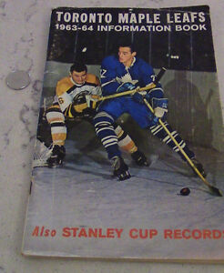 Toronto Maple Leafs 1963-64 Information Book