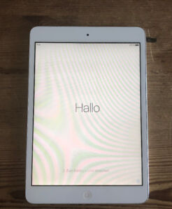 iPad mini, 16GB, White, 1st generation