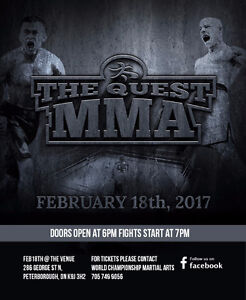 The Quest MMA - February 18th Peterborough Peterborough Area image 1