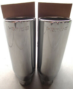 """2011-2014 Ford F150 4.5"""" ROUSH Stainless Steel Exhaust Tips."""
