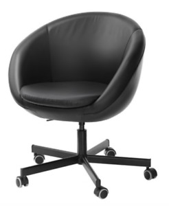Black Swivel Computer Chair from IKEA