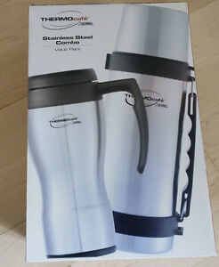 NEW in Box Thermos Stainless Steel Combo