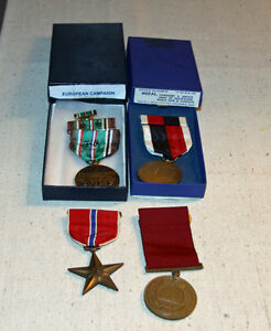 WW2 United States Medals