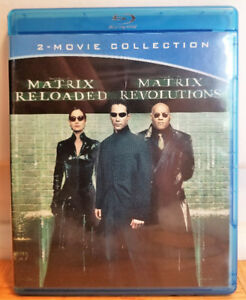 Matrix Reloaded & Revolutions Blu-rays - $10/$7.50 Each OBO