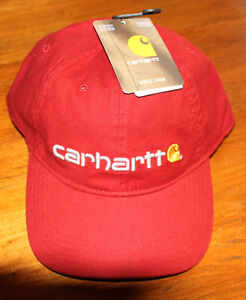 New Red Carhartt Hat L/XL with tags