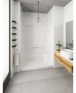 Weston 5 One Piece Walk in Shower by Mirolin