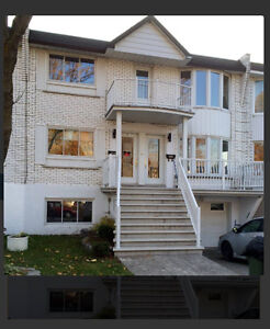 5 1/2 for rent in anjou semi-heated