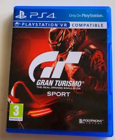 GRAN TURISMO SPORT - PLAYSTATION 4.