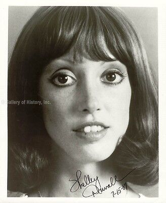 Shelley Duvall   Photograph Signed 07 15 1981