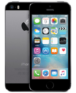 Space Grey iPhone 5s,16GB. Perfect Condition.BELL/VIRGIN mobile