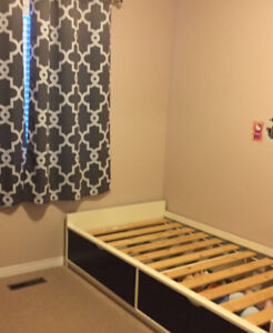 Excellent Conditions Ikea Twin Bed!!!