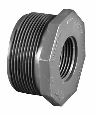 Charlotte Pipe  3/4 in. Dia. x 1/2 in. Dia. MPT To FPT  PVC  Reducing