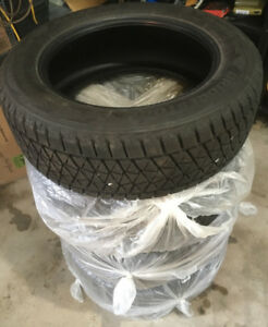 100% New Bridgestone Blizzak Winter tires 235/60 R18