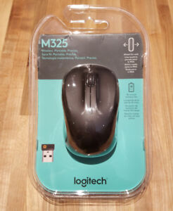 Brand New Logitech M325 Wireless Mouse - No Unifying Receiver