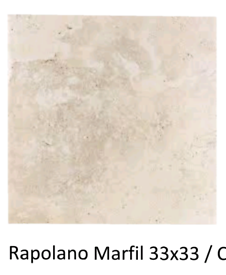 33x33cm Rapalano marfil ceramic floor tile £6m2