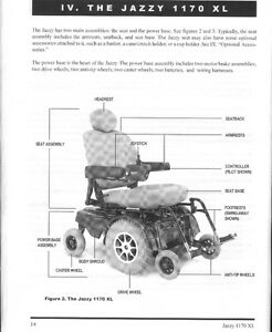 Electric wheelchair - holds up to 400 lbs