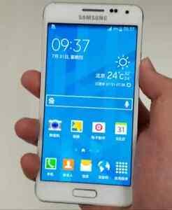 Samsung galaxy alpha white phone