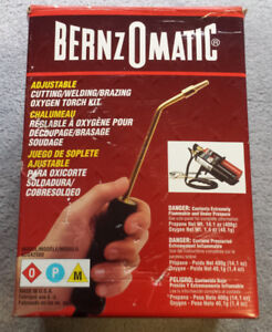 ** SOLD ** BernzOmatic Cutting, Welding and Brazing Torch Kit