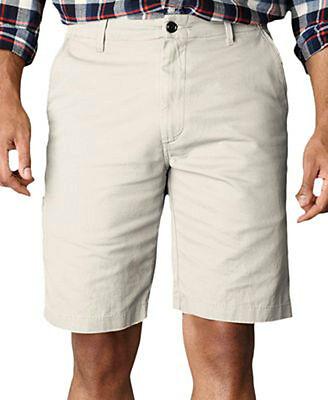 Dockers Men's Flat-Front Soft Casual / Khaki D3 Shorts Alm