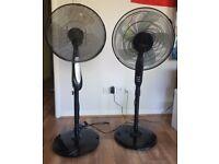 Freestanding Fan x2