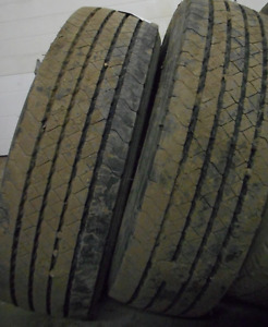Westlake GT976A 245/70/19.5=90% tread=2 tires $400 These have be